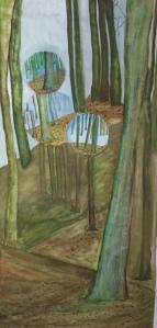 Das Wald 07: Eine Studie das Schwarzwald.