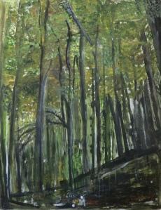 Das Wald: Eine Studie das Schwarzwalds.